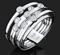 """Кольцо""""Trend Line""""арт. 01-4697-00-501-1120-38-606, Золото 585 пробы, идет на 17,5 размер.производитель ООО ТД Платина Кострома. Россия. (вес 11,41 г) - фото 15423"""