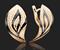 """Серьги """"МИРАЖИ """" арт. 02-3699-00-000-1110-04-321, Золото 585 пробы, производитель ООО ТД Платина Кострома. Россия. (вес 2,91 г) - фото 15445"""