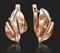 Серьги арт. 02-4131-00-000-1110-48-510, Золото 585 пробы(красное), производитель ООО ТД Платина Кострома. Россия. (вес 4,35 г) - фото 6864